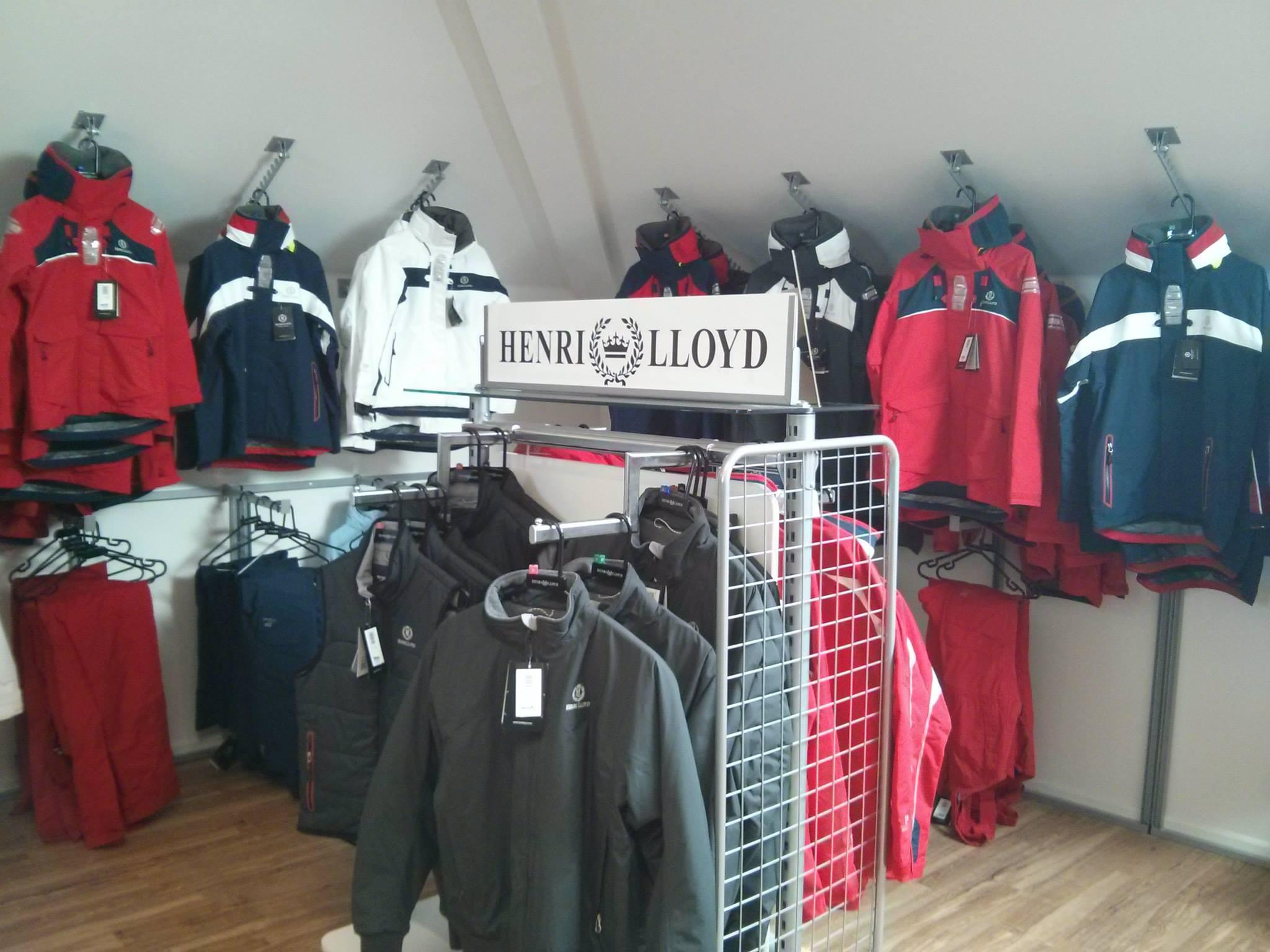 Marine clothing store
